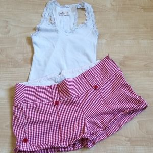 Charlotte Russe Checkered Shorts